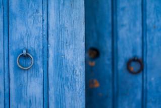 Old door -