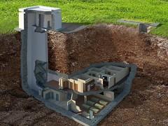 Подземный бункер в США