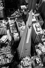 (kayters) Tags: sanfrancisco california blackandwhite northerncalifornia architecture canon shadows thecity aerial bayarea birdseyeview transamericapyramid kaytedolmatchphotography kathleendolmatch