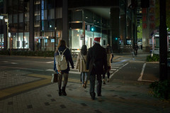Meieki 4-chome, Nagoya (kinpi3) Tags: street japan night nagoya 日本 gr ricoh 名古屋 夜 meieki