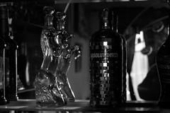absolut disco (Ina Apla) Tags: blackandwhite bw monochrome bottle nikon monotone liquor vodka absolut disko