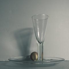 still life in the style of Sudek v.2 (Wendy:) Tags: stilllife glass umbrella egg plate ocf bounced josefsudek 580exii