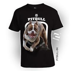 PITBULL-BK (squareteesbdg) Tags: dog square 3d pitbull kaos anjing binatang