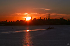 Sunet over NYC (snapshotJA) Tags: nyc newyork photography sunsets