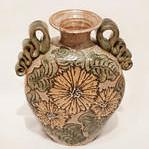 "<b>Sunflower Vase</b><br/> John D. Coiner, 2001 <a href=""http://farm1.static.flickr.com/680/23315801110_de9d1bf959_o.jpg"" title=""High res"">∝</a>"