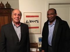 Michel Thierry Atangana et Jean Ziegler