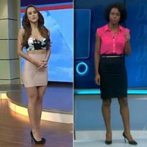 Moça do tempo mexicana provoca novo furor na web após figurino ousado na TV