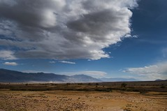 View From The Bluff (gpa.1001) Tags: california owensvalley bishop chalkbluff volcanictablelands inyocounty clouds easternsierra