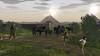 Iron Age settlement (Wessex Archaeology) Tags: reconstruction visualisation illustration archaeology archaeological ironage village settlement cattle farm farms farming roundhouse building