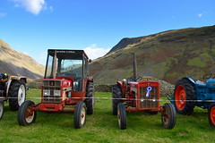 Scenic tractors (Tony Worrall) Tags: wasdale head show shepherds meet cumbria cumberland lakes farm farmer event village scene festival rural countryside country sunlit outdoors england northern uk update place location north visit area county attraction open stream tour welovethenorth northwest unitedkingdom candid tractors scenery scenic hills