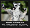 Selfie effect (Channah07) Tags: justintrudeau animal selfie highlight year2016 politics upshot lemur