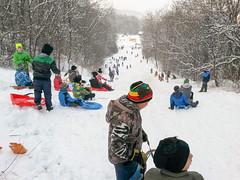 Szánkó party a hegyalat (dragononest) Tags: hó gyerekek szánkó childrens slovak szlovákia slovensko moldava szepsi nad bodvou hegyalat pod kopcom