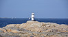 Marstrand, Lighthouse Skallen. (andantheandanthe) Tags: westcoast bohuslän fortress sea hav boats båtar yachts sailingboats motorboats idyll swim swimming bath bada simma rocks architecture culture kultur klippor skallen lighthouse horizon