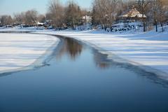 DSC_0038a (Fransois) Tags: rivière milleiles river hiver winter laval québec rivièredesmilleiles milleilesriver eaux waters neige snow glacée ice icy glace
