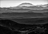 Mount St Helens from Mount Aix (@GilAegerter / klahini.com) Tags: nikon nikkor light rangeoflight cascades mountsthelens mountaix volcano volcanoes ridges beautiful beautifulphotography beautifullight blackandwhite blackandwhitephotography nikond610 70210mmf456