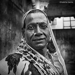 Hijra (www.luismariabarrio.com) Tags: people india monochrome portrait bw hijra