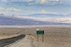 Where the road passes under the sea level (erichudson78) Tags: usa california deathvalley nationalpark paysage landscape road route ciel sky nuages clouds nature