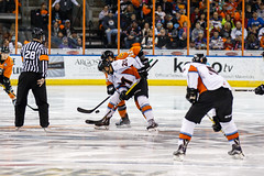 "Missouri Mavericks vs. Quad City Mallards, December 31, 2016, Silverstein Eye Centers Arena, Independence, Missouri.  Photo: John Howe / Howe Creative Photography • <a style=""font-size:0.8em;"" href=""http://www.flickr.com/photos/134016632@N02/32090839905/"" target=""_blank"">View on Flickr</a>"