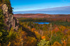 Oberg Mountain (Paul Domsten) Tags: minnesota obergmountain pentax outdoor landscape northshore fall trees