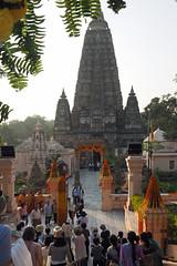 "PB140624-a (photozaki) Tags: india ""sujata kuti"" ""mahabohi temple"" ""mahabodhi mahavihara temple ""buddhist buddha buddhism ""bodhi tree"" bodhgaya gaya buddhist monk monks ashoka enlightenment ""vajrasan diamond throne"""