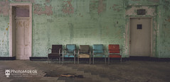 Surrender yourself to silence (Explored) (photoMakak) Tags: 6d canon6d canon canonef1740mmf4lusm photomakak mementomori mementomoriphoto urbex decay abandoned abandonné urbanexplorer urbandecay urbanexploration derelict chaise chair