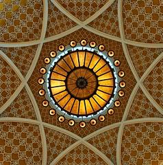 Candelabra (Arx Zyanos) Tags: sony a6500 ilce6500 sonya6500 zeiss batis zeissbatis zeissbatis225 zeissbatis2520 dubai mall candelabra geometry dome dubaimall vae dubaicity arabia colors colorful yellow architecture