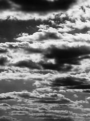 clouds (Darek Drapala) Tags: clouds bw blackwhite blackandwhite nature sky skyskape panasonic panasonicg5 lumix light