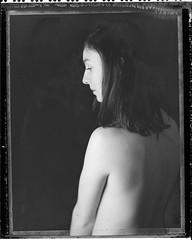 M. (denzzz) Tags: portrait polaroid polaroid55 negativescan blackwhite blackandwhite skancheli analogphotography filmphotography instantfilm snapitseeit hylasmag polavoid wista45dx fujinona 240mm 4x5 largeformat expired
