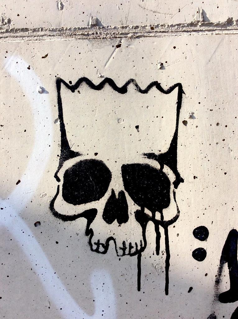 Graffiti Stencils Skull The World's Best Photo...
