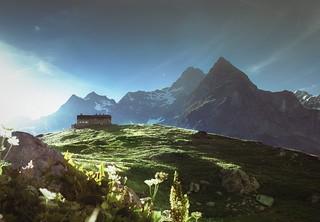 Italian Alps Refuge