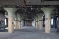 Supported III (Pas (sQualie)) Tags: toronto ontario graffiti nikon peelingpaint ue urbex pilars uer 2013 nikon1755mmf28 d7000