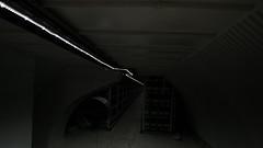 Ventilation x lighting (thejaan) Tags: city urban london abandoned station dark underground subway scary downtown technology tech metro farm farming tube grow tunnel op growing farmer shelter bomb exploration clapham deserted hydroponics
