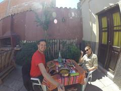 Photo de 14h - A l'auberge (Salta, Argentine) - 24.08.2014