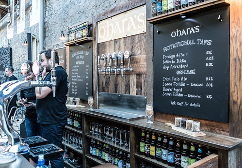 IRISH CRAFT BEER FESTIVAL IN THE RDS LAST WEEKEND IN AUGUST 2015 [O'HARA'S] REF-107257