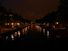 Amsterdam canal at night (ashabot) Tags: city amsterdam reflections nightlights citylife canals citylights nightshots lightanddark worldheritagesites amsterdamcanals worldcities