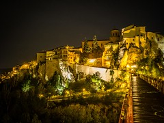 Cuenca (joaquinportela) Tags: espaa night spain espanha olympus oldtown espagne cuenca omd castillalamancha panasonic14mm25 omdem1