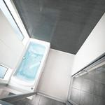 浴室排水口の写真