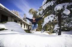 Marine Corps Birthday jump (Flickr_Rick) Tags: autumn snow usmc outside jump jumping jumpology