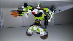 Lego Mixel Moc, series 4, Hovercode. (miketvas) Tags: robot lego series mech moc mixel mixels legomixelmoc