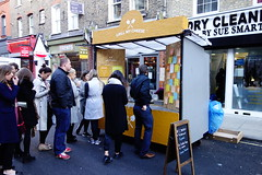 Grill My Cheese (bellaphon) Tags: food london market foodstall toasties leatherlane cheesesandwiches grillmycheese