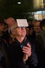photoset: Funkhaus: Der letzte Schrei. Ein Radiomeer vor dem Funkhaus (5.11.2015)