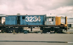 Death of a DJ. (AA654) Tags: new dj rail railway loco zealand locomotive mitsubishi 3234