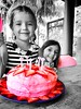 Amazing seeing these girls grow up. Good times at the #pinkalicious party (Intrepidteacher) Tags: pinkalicious