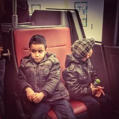 They think we're jihadists. Brussels, November 2015. (joelschalit) Tags: brussels children war belgium islam arab isis racism immigration discrimination jihad multiculturalism