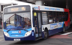 Rotherham (Andrew Stopford) Tags: stagecoach nineteen scania rotherham adl enviro300 k230ub fx61cyw