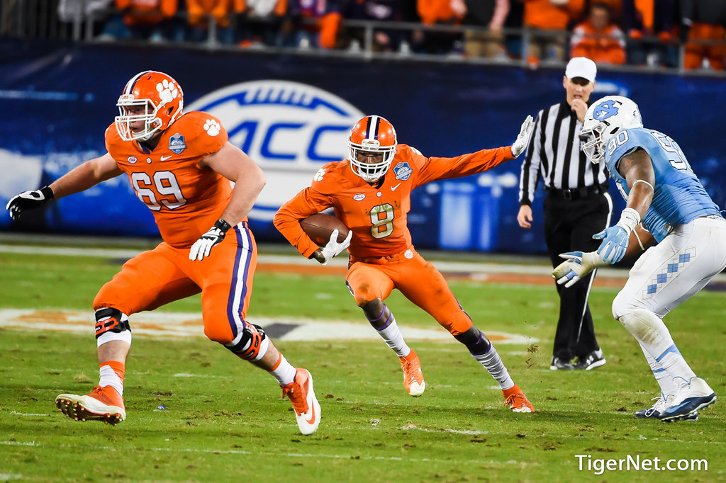 Clemson Photos: Deon  Cain, Maverick  Morris, 2015, Football