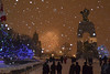 New Years Eve, Parliament Hill, Ottawa, Canada 2017 (Jim Cumming) Tags: newyearseve 2016 2017 ottawa canada parliamenthill snow night fireworks nationalwarmemorial newyearsday