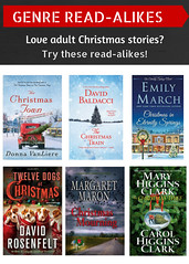 Read-Alikes for Adult Christmas Stories 12/8/16 (plano.library) Tags: christmas readalikes books haggard parr schimelpfenig harrington davis library libraries planopubliclibrarysystem ppls plano tx