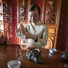 Tea Master, Lijiang (lycheng99) Tags: tea teamaster tasting drinking woman beautiful charming traditional chinese 麗江 portrait decoration