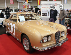 Ghia Alfa (Schwanzus_Longus) Tags: essen motorshow motor show german germany italy italian old classic vintage car vehicle bronze coupe coupé alfa romeo 1900c sprint supergioiello ghia